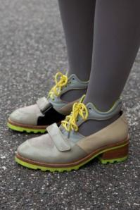 Hiker heels, WGSN street shot, London
