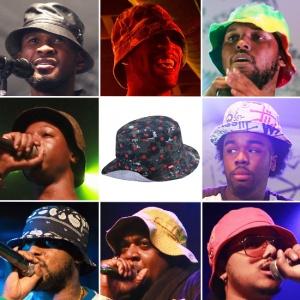 Bucket hat rap style